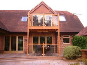 Bi-Folding doors for a large private property