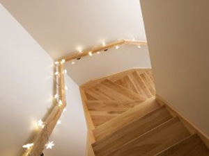 Traditional Wooden Staircase